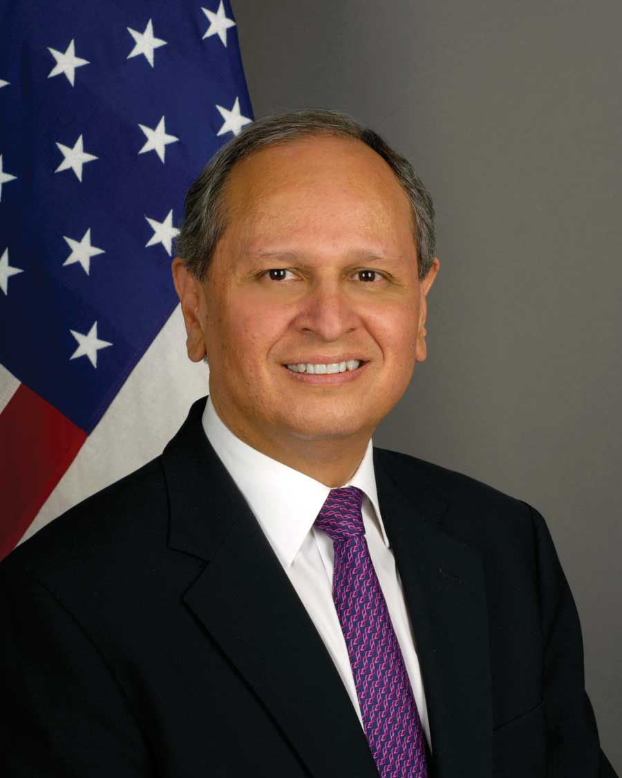 Former US Ambassador to Guatemala and now State Department Director Arnold Chacon. (Wikimedia)