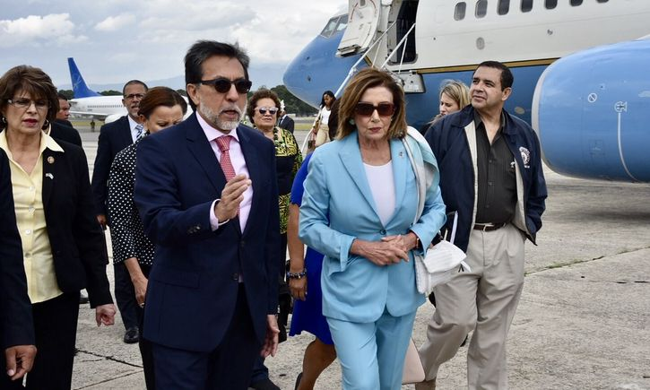 nancy pelosi guatemala