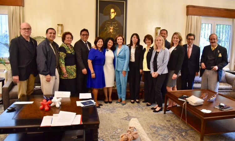 Visita Pelosi Guatemala