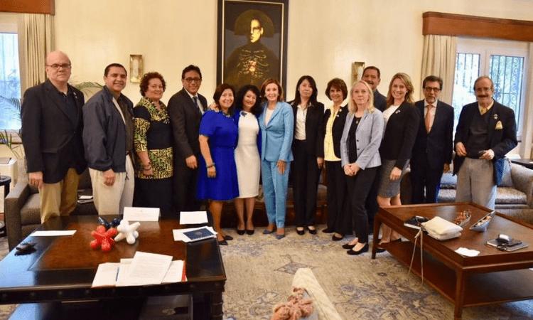 Pelosi Visit Guatemala