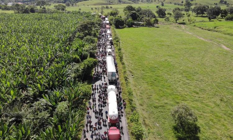 caravana migración