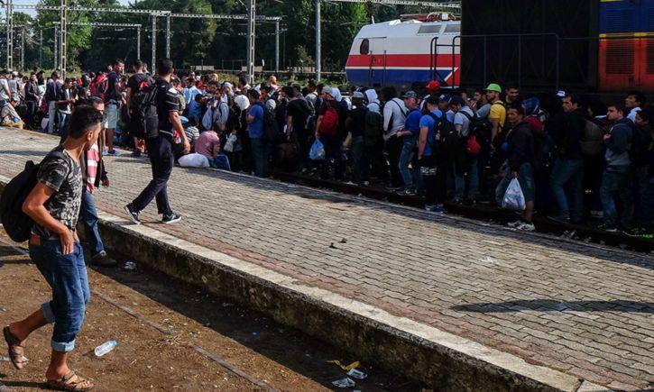 oleada migrante de Biden