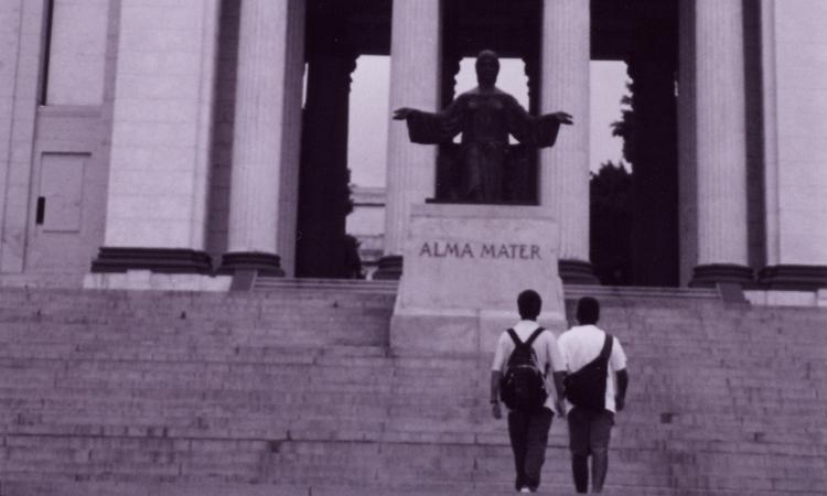 Universidad de La Habana, escalera principal.